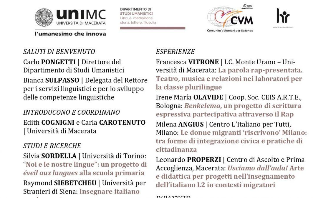 PRATICHE DI CITTADINANZA ATTRAVERSO L'ITALIANO L2: linguaggi e scritture dell'inclusione