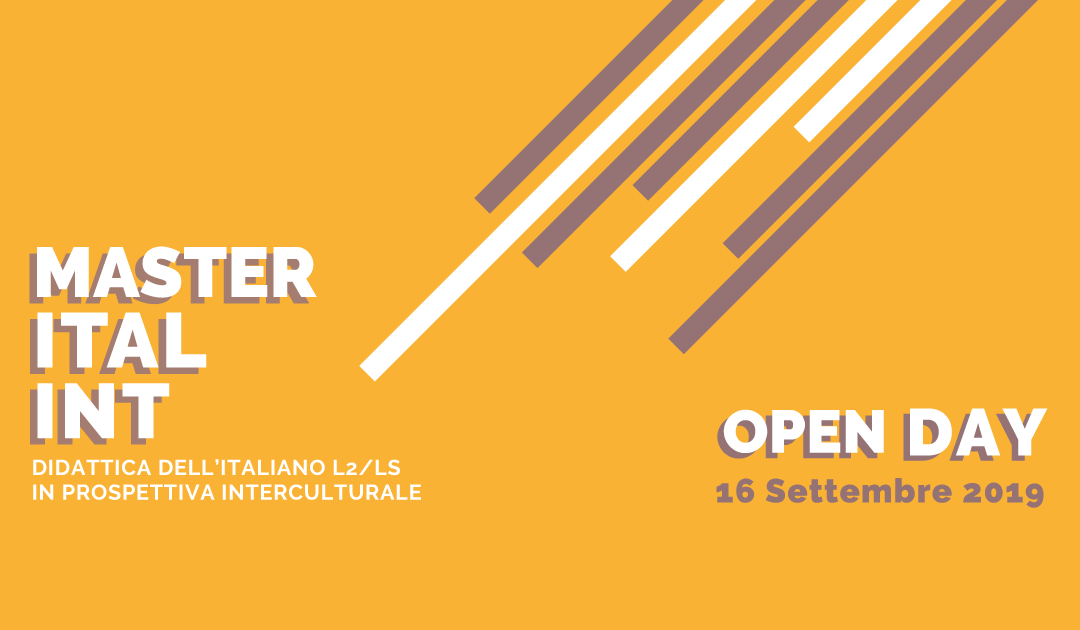 16 settembre 2019: OPEN DAY – Webinar di presentazione dell'offerta formativa ITALINT